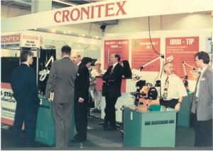 Messepräsentation Cronitex 1986