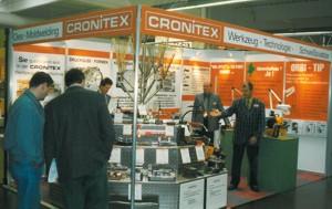 Messepräsentation Cronitex 1997